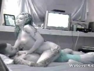 Grabando como se Folla a su Voluptuosa Esposa